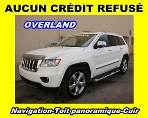 2011 Jeep Grand Cherokee OVERLAND NAVIGATION CUIR *TOIT PANORAMI