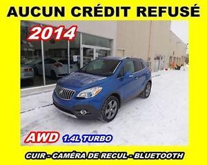 2014 Buick Encore **AWD**AUCUN CREDIT REFUSÉ**
