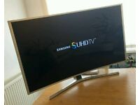 48in Samsung Curved 3D Smart SUHD 4K Nano Crystal LED TV WI-FI Freeview HD & FreeSat HD Warranty