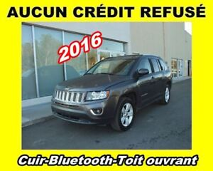2016 Jeep Compass **Cuir**Bluetooth**Toit ouvrant