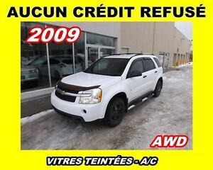 2009 Chevrolet Equinox **AWD**V6**Aucun Credit Refuse**