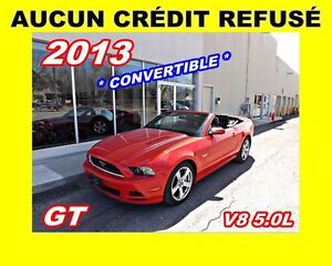 2013 Ford Mustang GT 5.0L*CONVERTIBLE*cuir,bluetooth*
