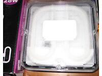 Fluorescent Light 2D Bulkhead Fitting 28 watt