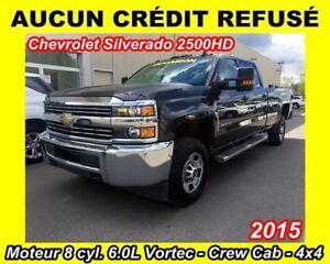 2015 Chevrolet SILVERADO 2500HD WT **AUCUN CRÉDIT REFUSÉ**