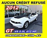 2012 Ford Mustang GT V8 5.0L*CONVERTIBLE*