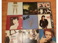19 Vinyl Records 1980's and 90's