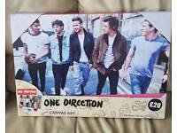Brand new one direction canvas