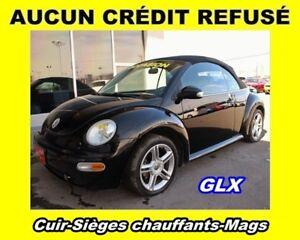 2005 Volkswagen New Beetle GLX CUIR *CONVERTIBLE* EXCELLENTE CON