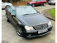 MERCEDES-BENZ CLK55 AMG 2005 CONVERTIBLE CLEAN EXAMPLE ONLY 104k MILEAGE PX SWAPS