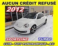 2012 Volkswagen Beetle Turbo Sportline*cuir, toit pano*