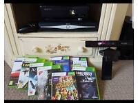 XBOX 360 & KINECT + GAMES
