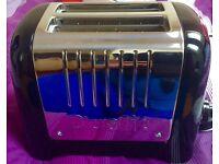 Dualit Lite 2 Slot Toaster Gloss Black