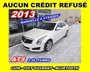 2013 Cadillac ATS **MANUELLE**TURBO**TOIT OUVRANT**