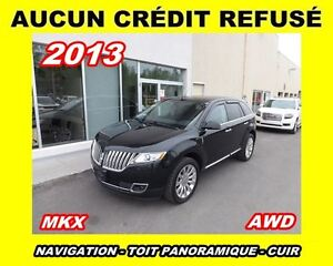 2013 Lincoln MKX **AWD,Navigation,Toit panoramique**