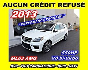 2013 Mercedes-Benz M-Class ML63 AMG*550H*PERFORMANCE PACKAGE*V8