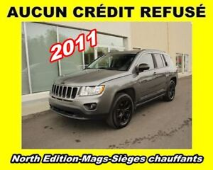 2011 Jeep Compass **Sport/North**Mags**Sièges chauffants