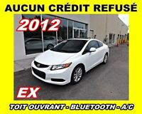 2012 Honda Civic EX**Toit ouvrant, Mags**