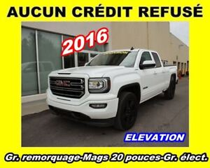 2016 GMC Sierra 1500 ELEVATION*ROUES 20 PO*APPLE CARPLAY/ANDROID