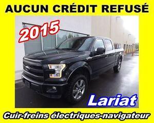 2015 Ford F-150 Lariat **TOUT ÉQUIPÉ**