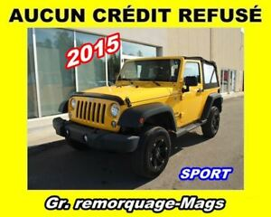 2015 Jeep Wrangler **Sport**All-Terrain**Mags