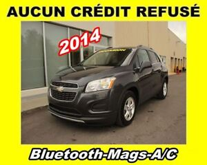2014 Chevrolet Trax **1LT**Bluetooth**Mags**Climatiseur