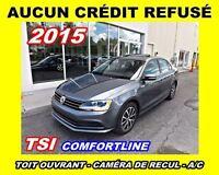 2015 Volkswagen Jetta **TSI**Toit ouvrant, Mags**Aucun Credit Re