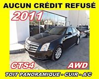 2011 Cadillac CTS AWD*toit panoramique,cuir,a/c*