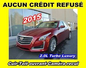 2015 Cadillac CTS **2.0L Turbo Luxury**TOIT PANO*Caméra recul*AW