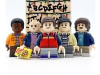 5x Stranger Things Minifigure Set (Fits with lego)