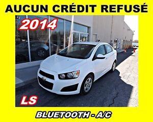 2014 Chevrolet Sonic *A/C*BLUETOOTH*aucun credit refuse