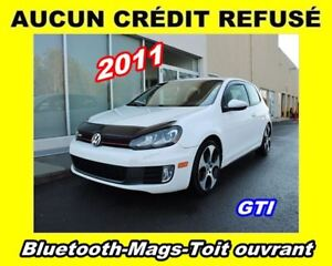 2011 Volkswagen Golf GTI **GTI**Bluetooth**Mags**Toit ouvrant