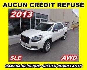 2013 GMC Acadia **SLE2**AWD**AUCUN CREDIT REFUSE**