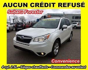 2015 Subaru Forester Convenience**AUCUN CRÉDIT REFUSÉ**