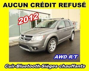 2012 Dodge Journey **R/T**Cuir**Bluetooth**Sièges chauffants