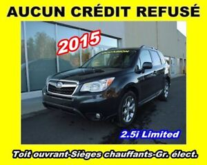 2015 Subaru Forester 2.5i Limited **AWD**TOIT OUVRANT**