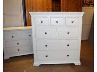 CHANTILLY WHITE Chantilly 7 Drawer Chest