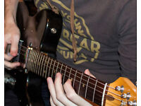 Professional guitar lessons and tuition available (20 years experience)