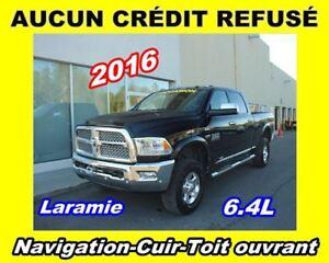 2016 Ram 2500 **Laramie**Navigation**Cuir**Toit ouvrant