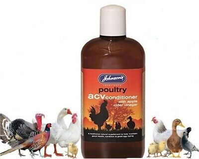 Johnson's ACV Conditioner Apple Cider Vinegar Poultry Multivitamin Health Tonic