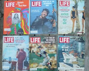 60's and 70's Life Magazines