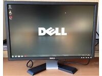 "Dell E E228WFPC 22"" Widescreen LCD Computer Screen Monitor Excellent w/ Cords vga dvi"