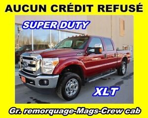 2014 Ford F-250 XLT 4X4 SUPER DUTY MAGS *GR. REMORQUAGE*