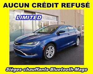 2015 Chrysler 200 LIMITED *SIEGES CHAUFFANTS* BLUETOOTH *0$ COMP