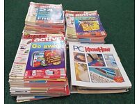 Large Collection Of Approx 100 Plus Computer Active Magazines & PC Know How