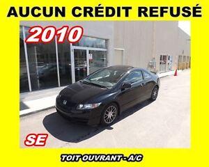 2011 Honda Civic **SE**Toit ouvrant, Mags**Aucun Credit Refuse**