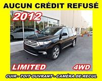 2012 Toyota Highlander Limited**Cuir, Toit ouvrant, Mags**
