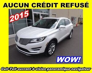 2015 Lincoln MKC **awd, navigation, toit panoramique**