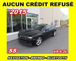 2015 Chevrolet Camaro **SS**V8 6.2L**Toit ouvrant,Mags**