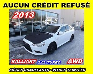2013 Mitsubishi Lancer Ralliart*2.0L TURBO*AWD*