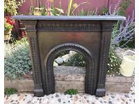 Antique Victorian Fireplace Surround (Pre C1882)